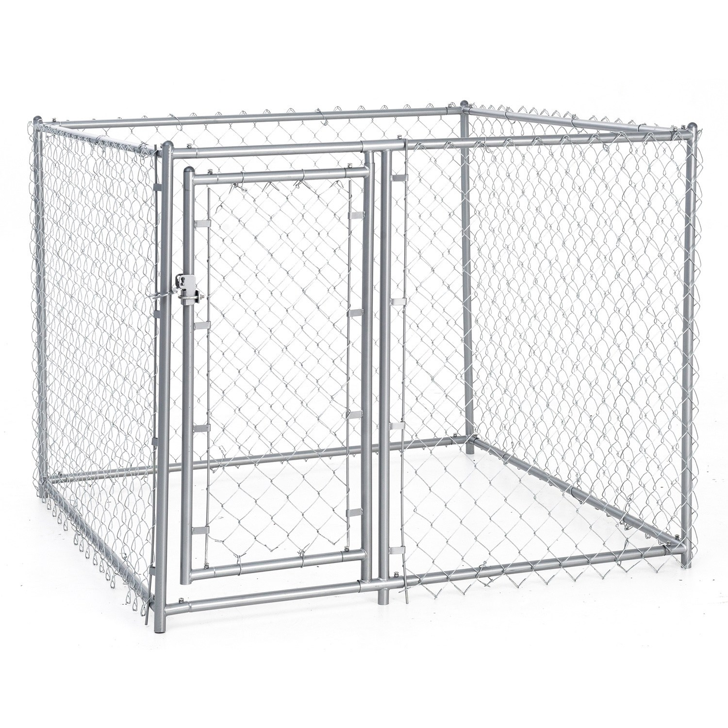 Chain Link Fence Outdoor Dog Run Kennel Extra Large Dogs