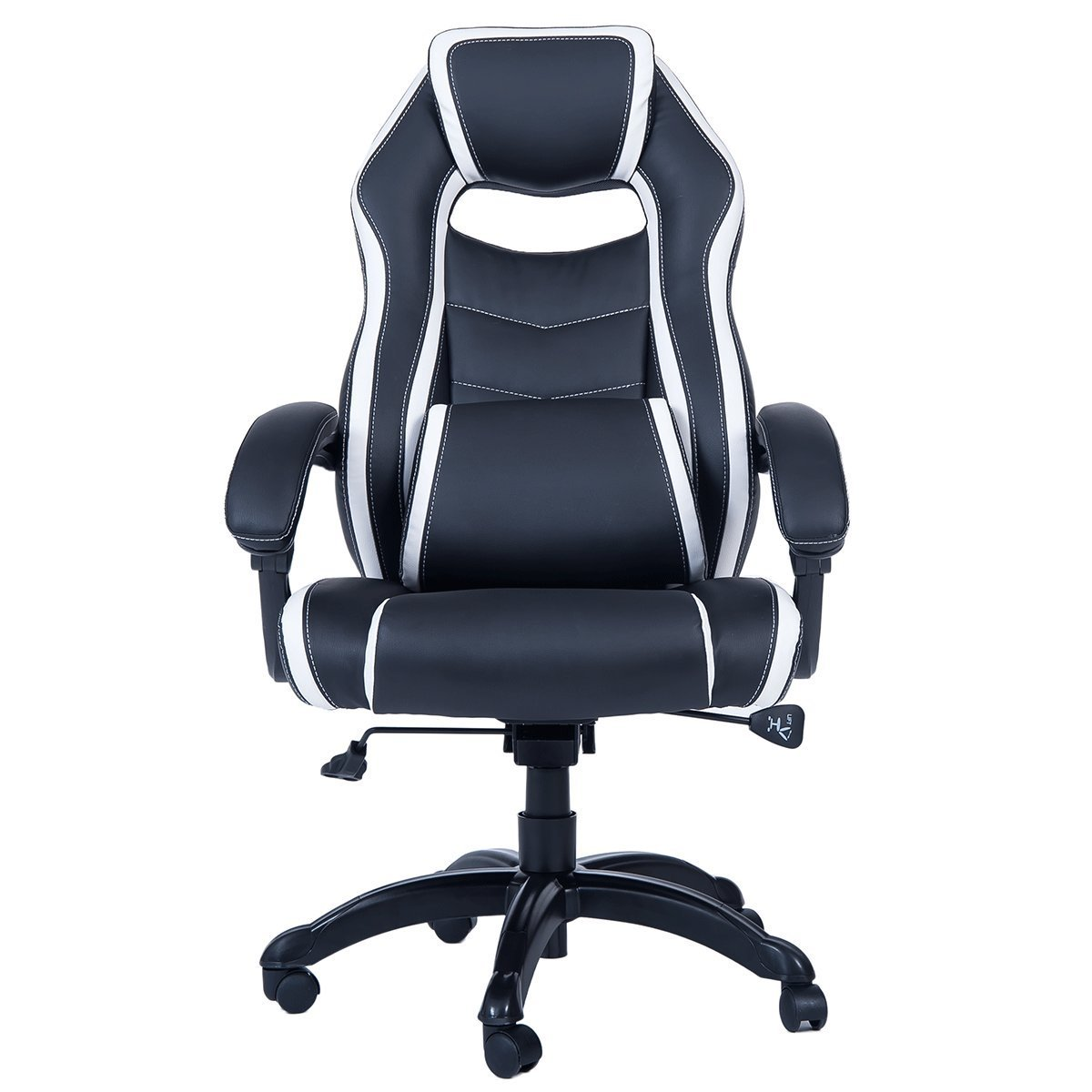 recliner gaming chair rainforest vibrating merax high back spacious racing style walmart com