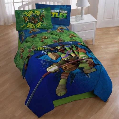 Nickelodeon Teenage Mutant Ninja Turtles Sheet Set 1 Each Walmart Com Walmart Com