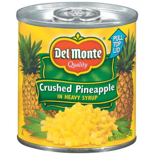 Del Monte In Heavy Syrup Pineapple Crushed 20 oz