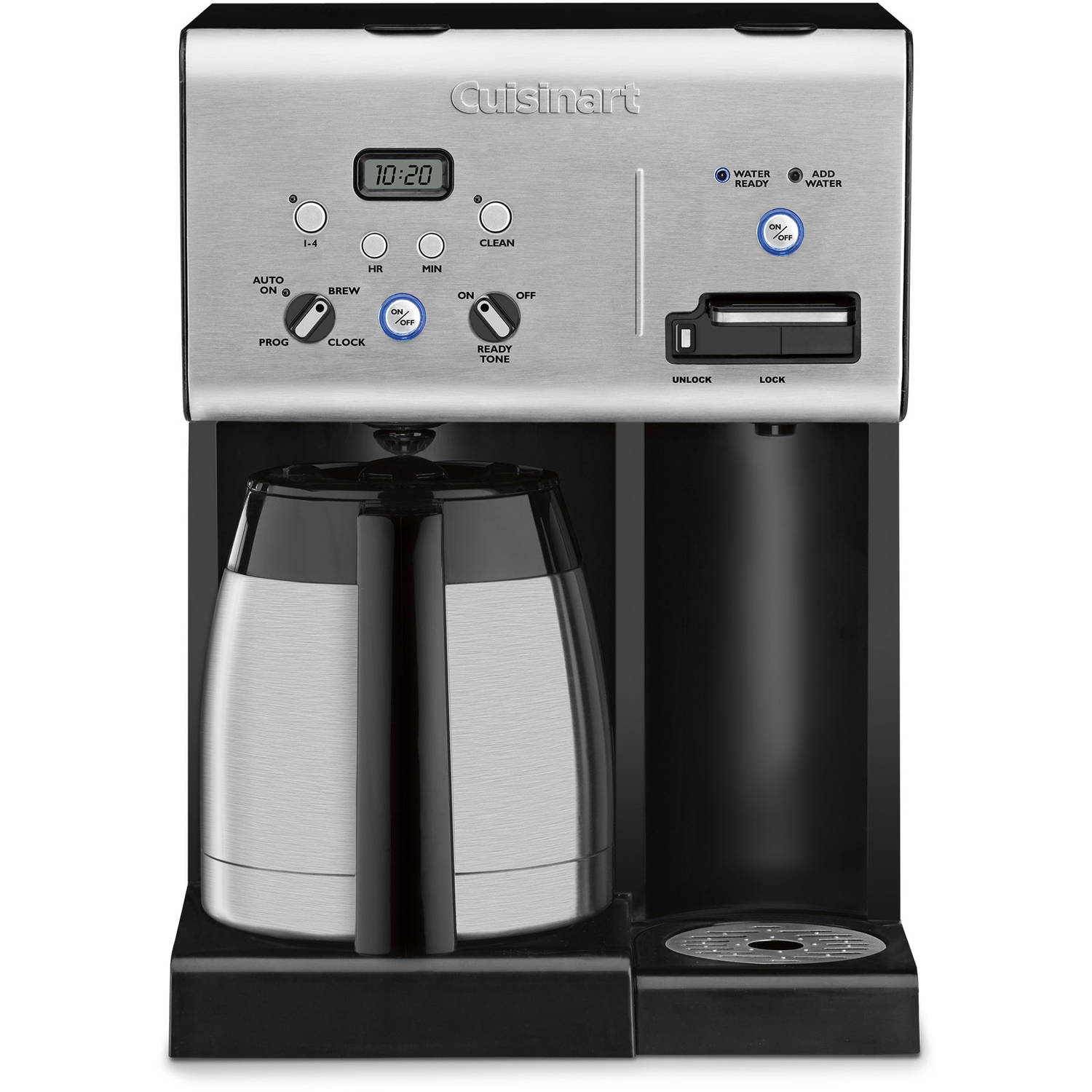 Cuisinart Coffee Plus 10Cup Thermal Coffeemaker and Hot