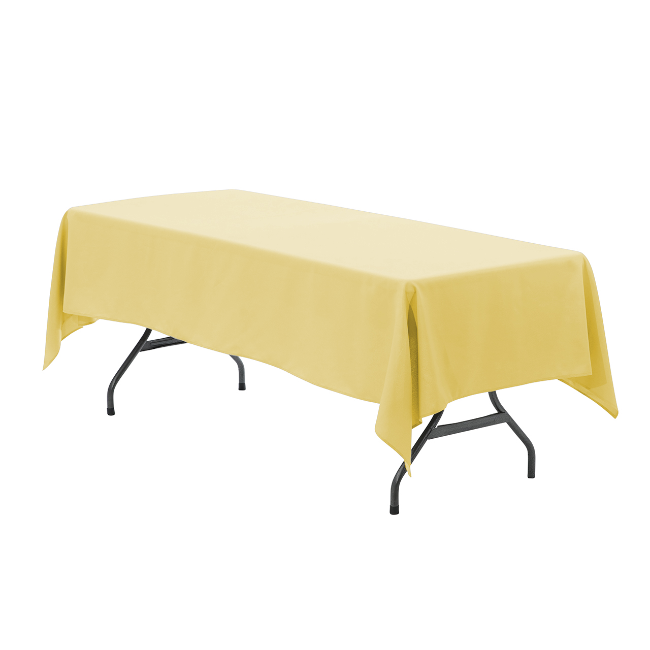 yellow chair covers hanging johannesburg your 60 x 102 inch rectangular polyester tablecloth pastel for wedding party birthday patio etc walmart com