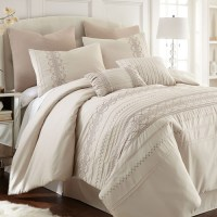 Pacific Coast Textile 8-Piece Embroidered Comforter Set ...