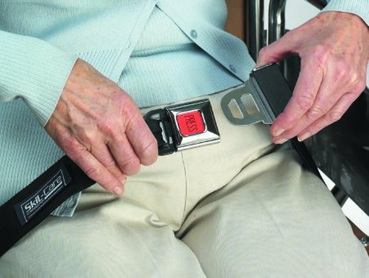 chairpro sofia leather chair cushion alarm seat belt f wheelchair units per each 1 walmart com
