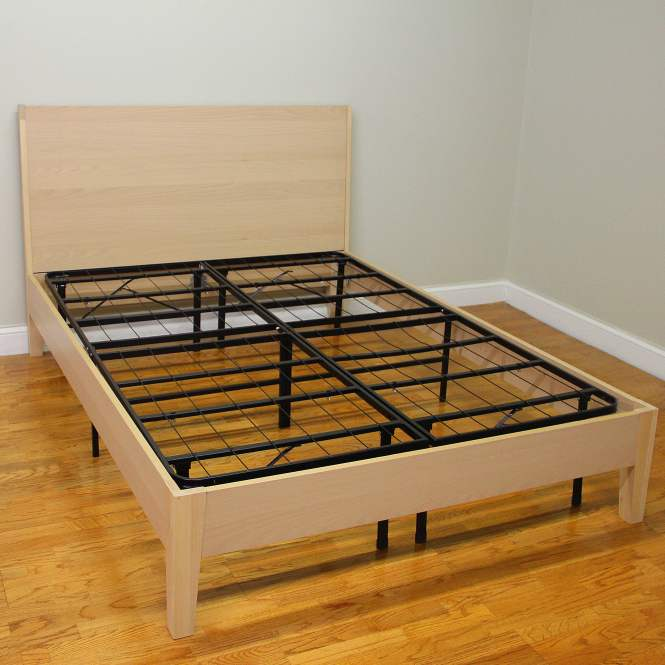 Modern Sleep Hercules Heavy Duty 14 Inch Platform Metal Bed Frame Mattress Foundation