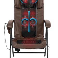 Folding Chair For Massage Cushion Lightning Mcqueen Chairs Walmart Com Product Image Homedics Easy Lounge Shiatsu Mcs 1210h