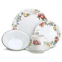 Corelle 20-Piece Dinnerware Set, Chutney - Walmart.com