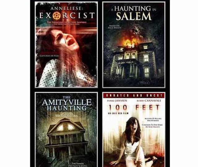 Horror 4 Pack Annaliese Exorcist The Amityville Haunting A Haunting In Salem 100 Feet Walmart Com