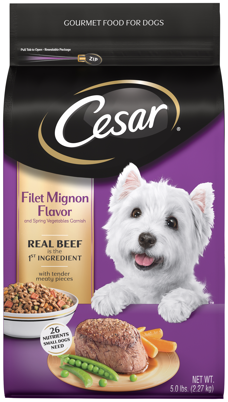Little Caesars Puppy Food : little, caesars, puppy, Cesar, Small, Breed, Filet, Mignon, Flavor, Spring, Vegetables, Garnish,, Walmart.com