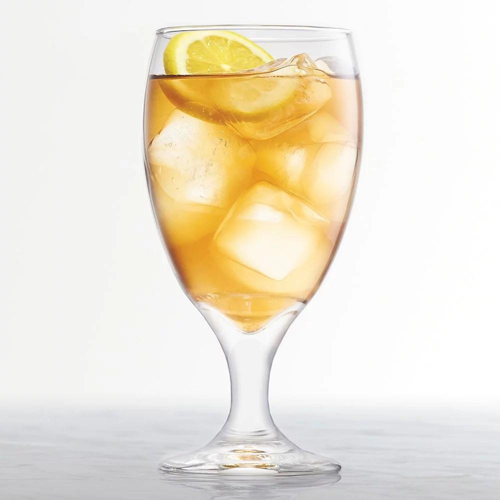 Food Network Modesto 4 Pc Iced Tea Glass Set Walmart