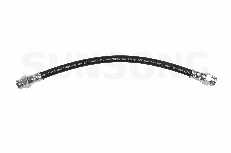 Sunsong 2204015 Brake Hydraulic Hose for Ford Probe, Mazda
