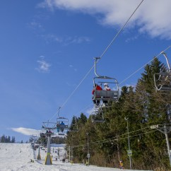 Buy Ski Lift Chair Pink Throne Laminated Poster Ferie Snow Resort Winter 24x16 Adhesive Decal Walmart Com