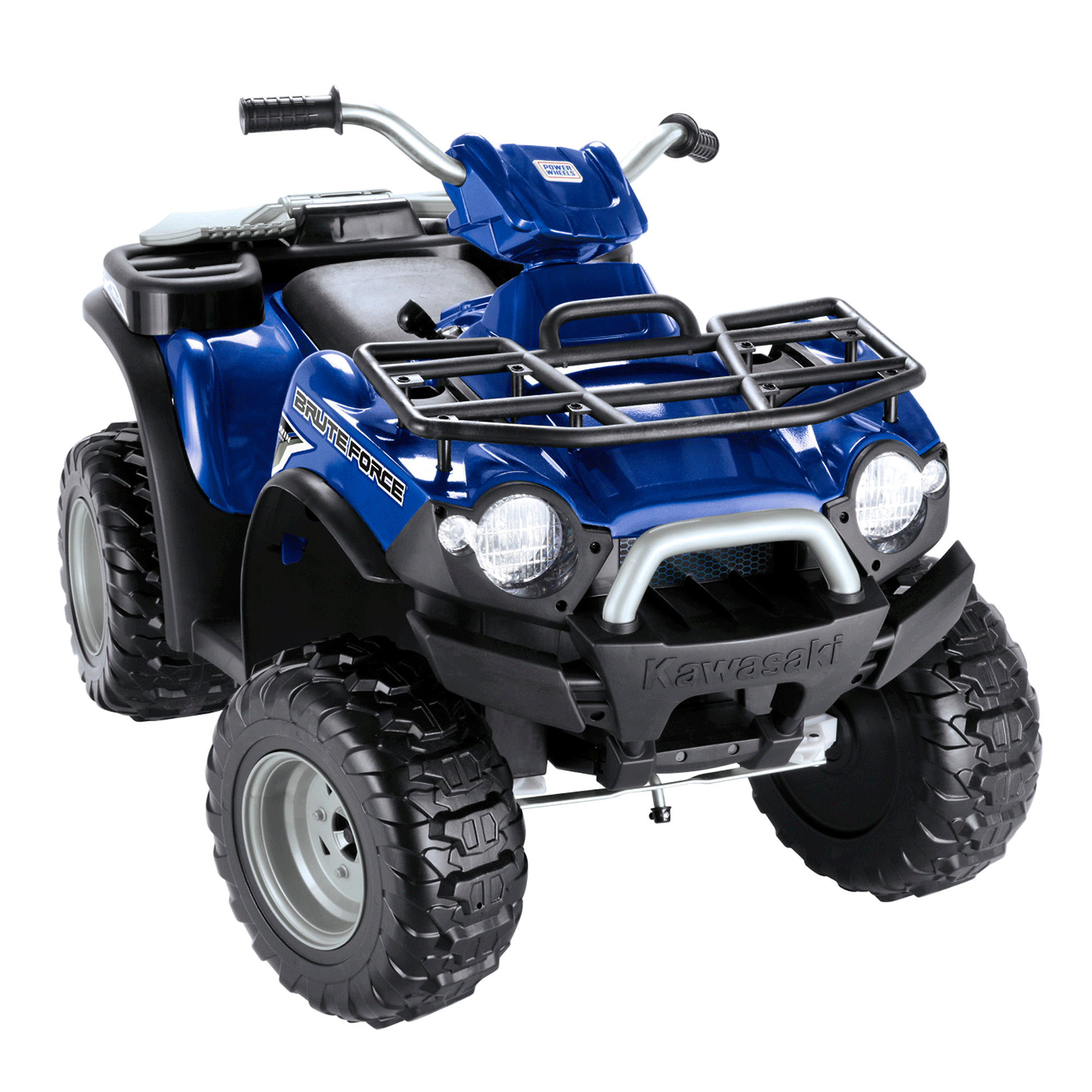 hight resolution of fisher price power wheels kawasaki brute force atv battery powered riding toy walmart com