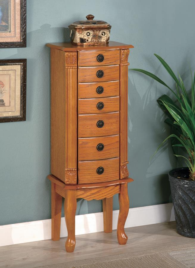 Stand Up Jewelry Box Walmart : stand, jewelry, walmart, Country, Jewelry, Armoire, Walmart.com