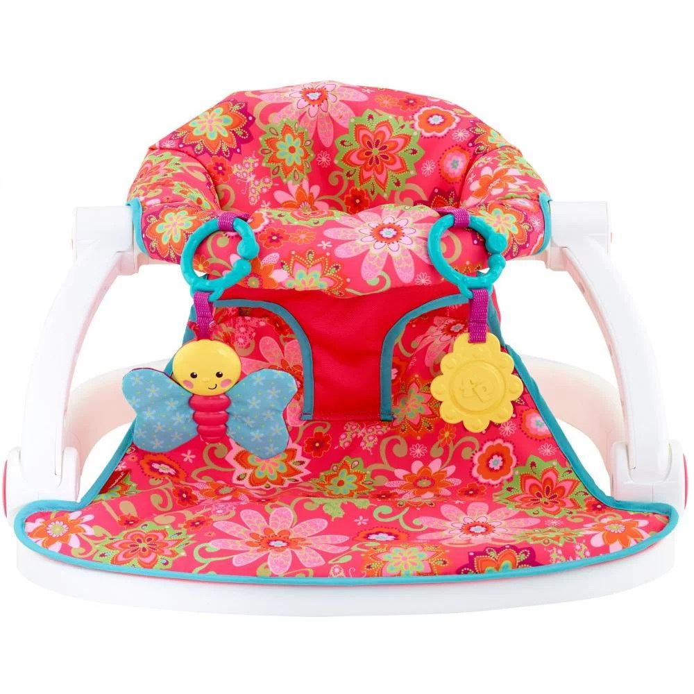 sit me up chair for babies round tables and chairs fisher price floor seat girl walmart com