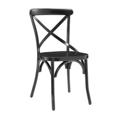 Distressed Kitchen Chairs Antique Appliances Accentrics Home Metal X Back Dining Room Chair Black Walmart Com
