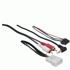 Metra Wiring Harness Toyota Radio Diagram For 2003 Chevy Tahoe 70 8114 Steering Wheel Control Wire With Rca
