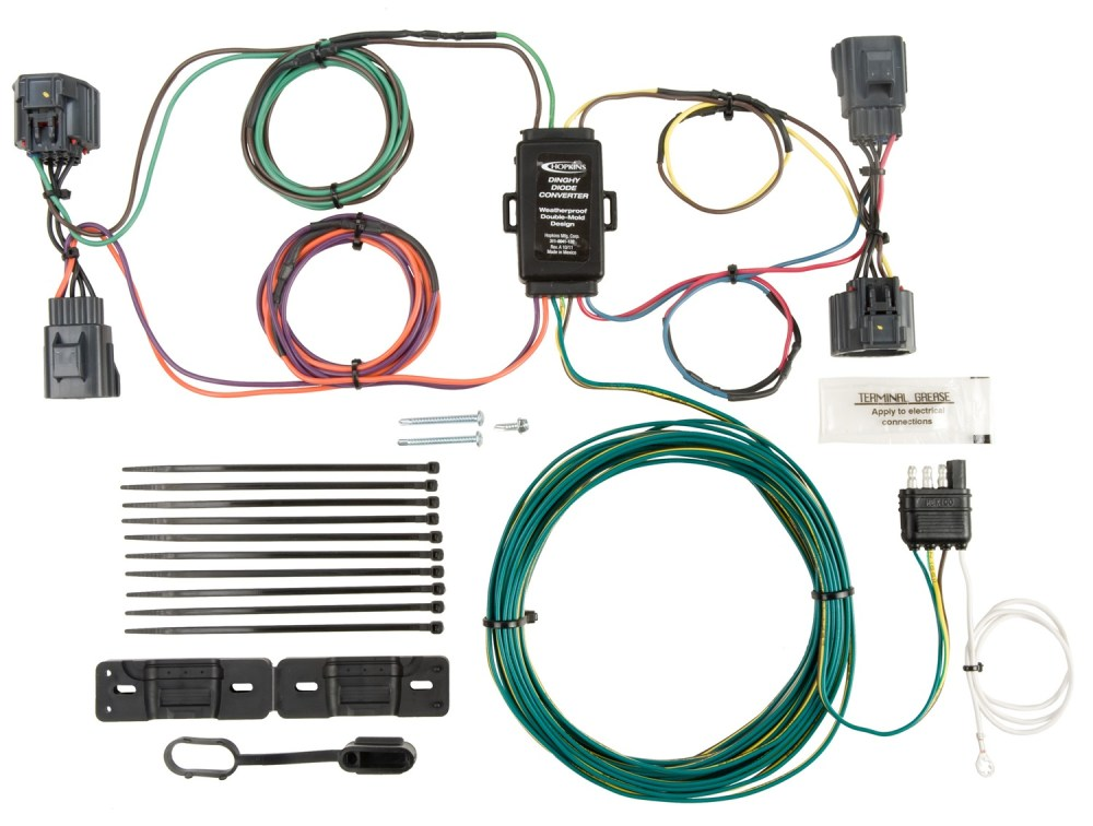 medium resolution of hopkins towing solution 56205 plug in simple vehicle to trailer wiring harness walmart com