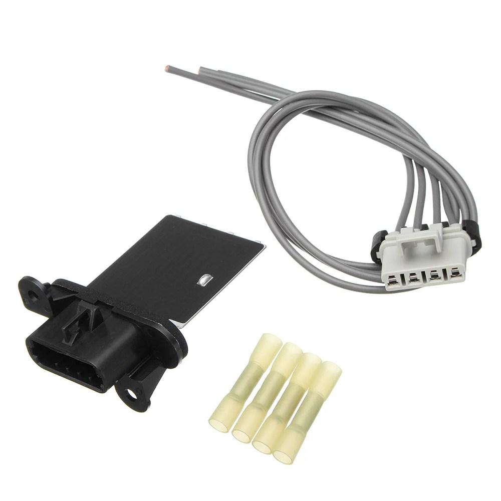 medium resolution of for toyota tacoma 2005 14 hvac blower motor resistor kit with harness connector walmart com