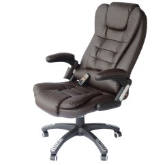 Best Office Massage Chair Counter Height Dining Chairs Homcom Deluxe Heated Vibrating Pu Leather Recliner