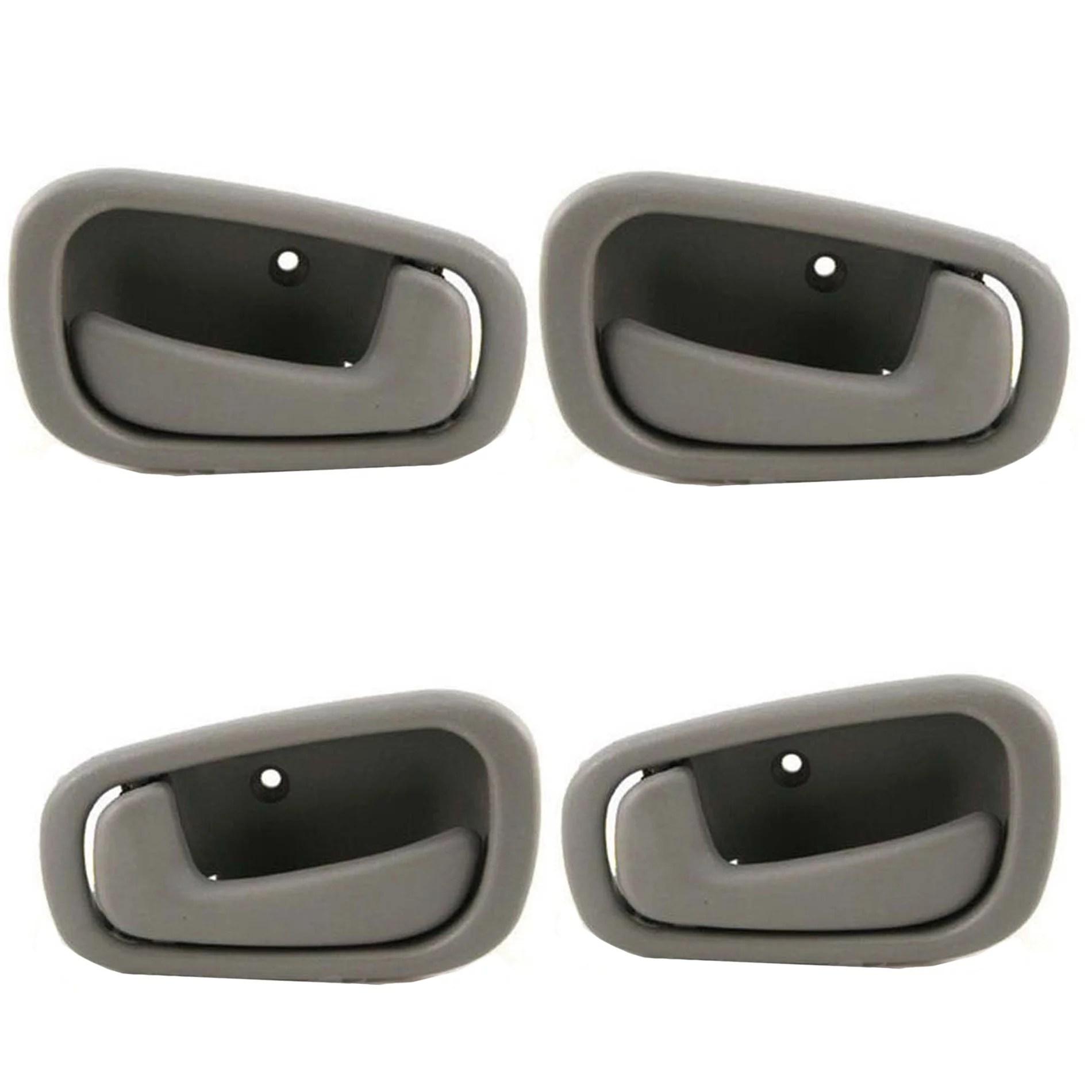 hight resolution of for 98 02 chevrolet prizm toyota corolla gray interior inner door handle 4pcs full set 98 99 00 01 02 dh44 walmart com
