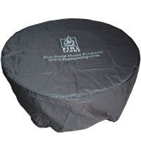 The Outdoor GreatRoom Company Round Vinyl Cover for Dining ...