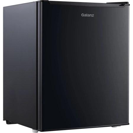 Galanz 2.7 Cu Ft Single Door Mini Fridge GL27BK, Black