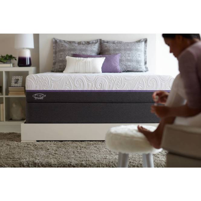Sealy Optimum Posturepedic Radiance Gold Cushion Firm Mattress