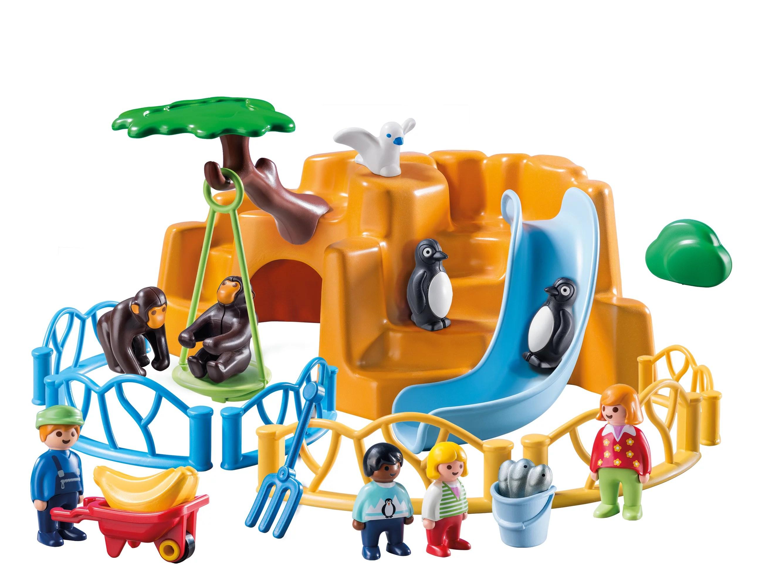Playmobil 1 2 3 Zoo