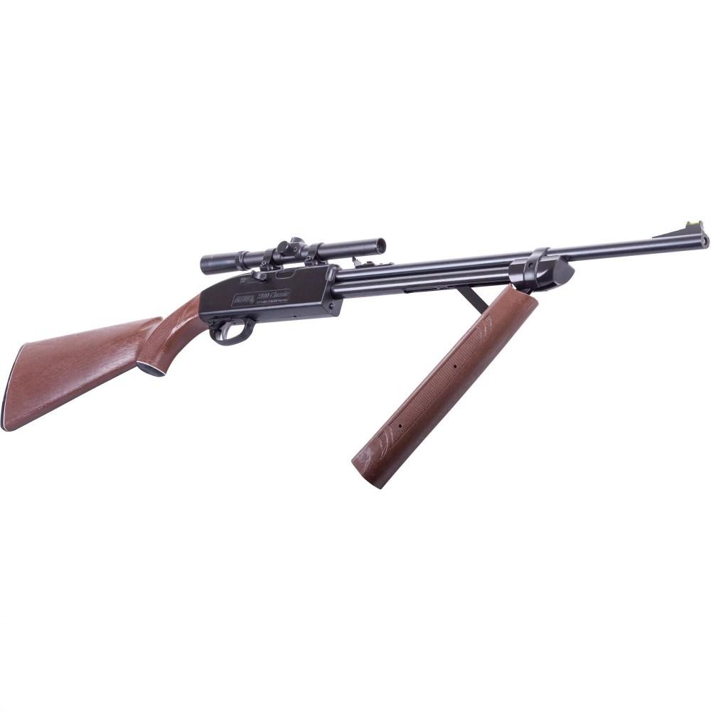 medium resolution of crosman 2100 classic variable pump 177cal air rifle with scope 2100x walmart com