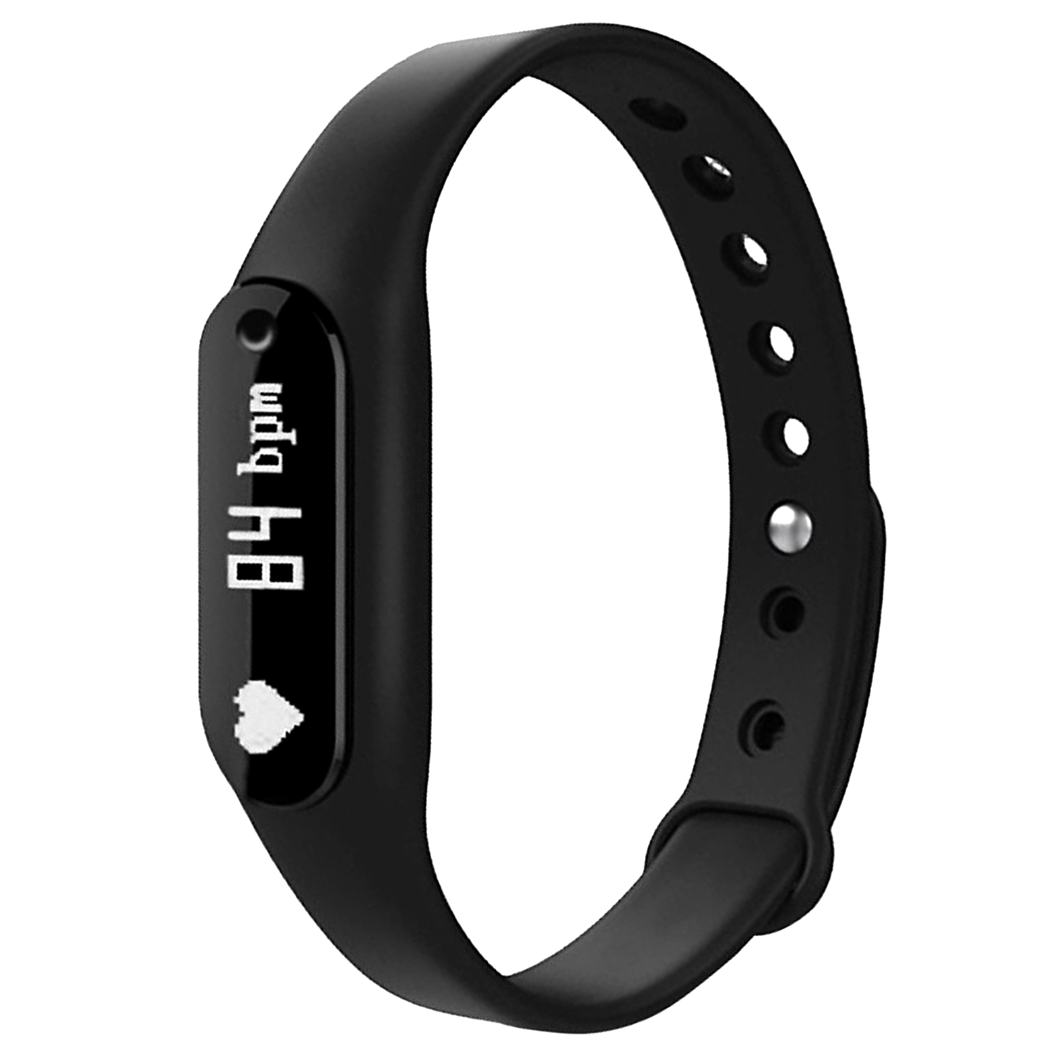 Agptek Smart Fitness Activity Tracker With Heart Rate Smart Watch Wristband Bt 4 0 For Android