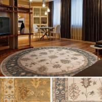Surya Carpet, Inc. Hand-Tufted Asnee Bordered Wool Rug (8 ...