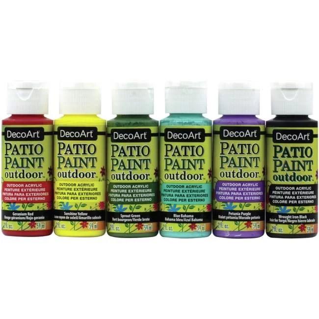 patio paint value pack 6 pkg walmart com