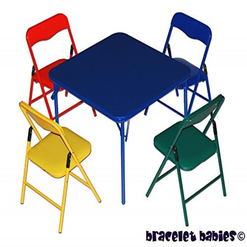 bracelet babies children s folding table folding chairs furniture