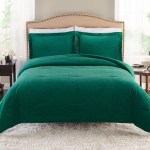Better Homes And Gardens Emerald Velvet Comforter Set Full Queen Walmart Com Walmart Com