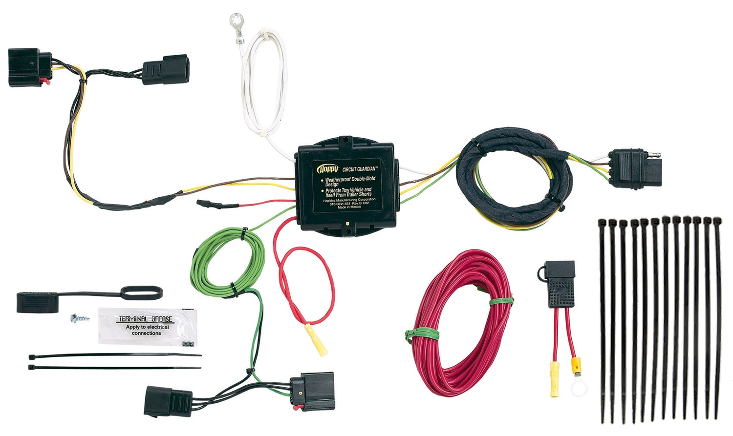hight resolution of hopkins towing solution 11142175 trailer wire harness walmart comhopkins wiring harness 9