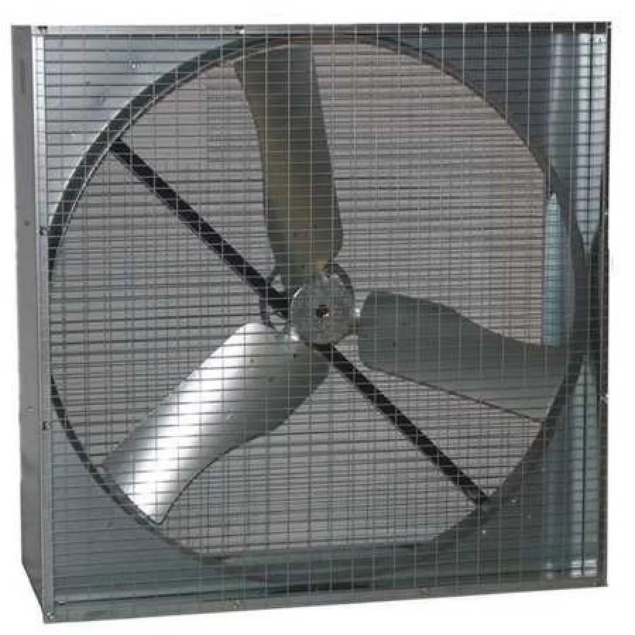 dayton 44yu20 exhaust fan 48in belt drive less motor