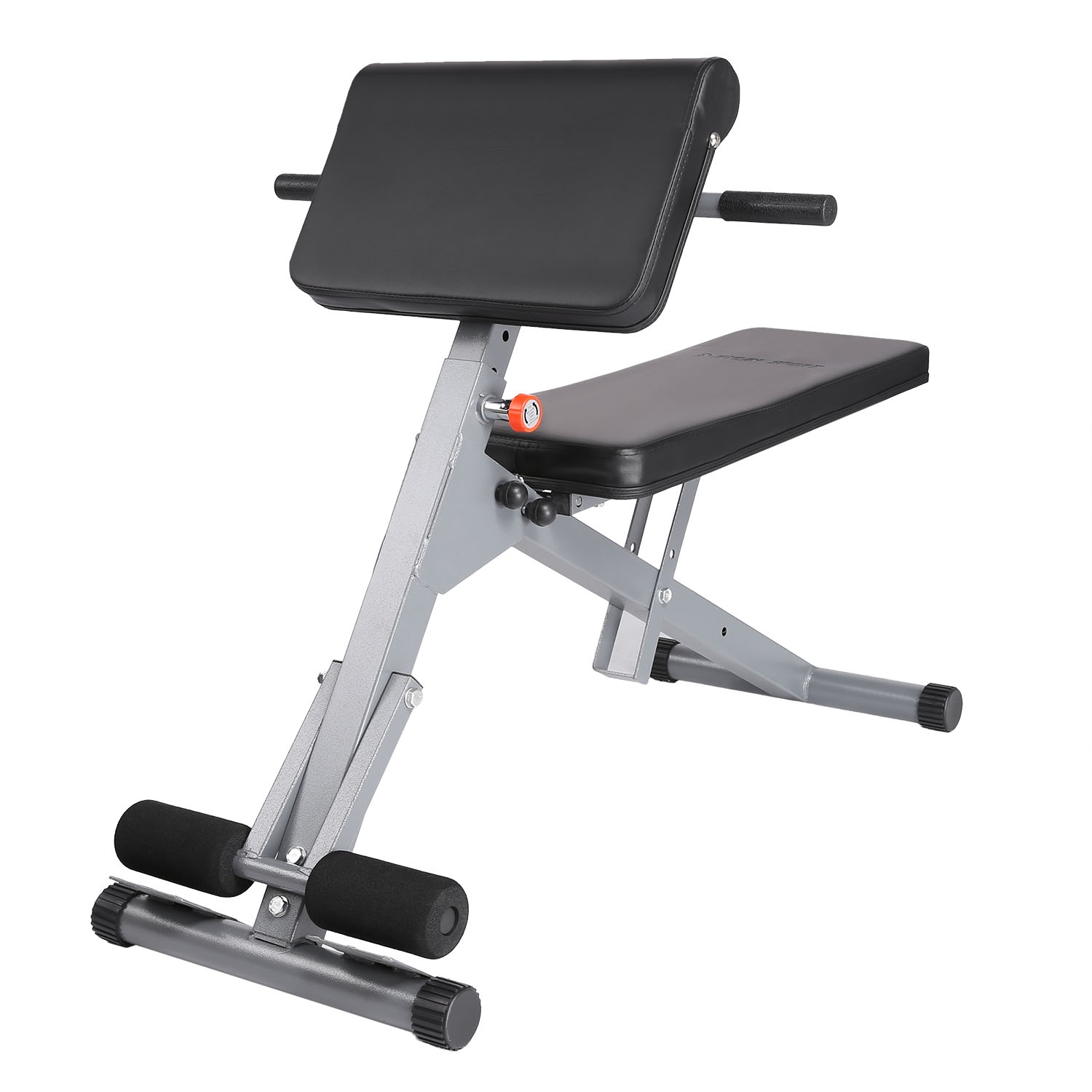 chair sit ups kidkraft aspen table and set roman hyperextension bench up ab exercise home gym fitness workout equipment walmart com