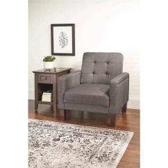 Grey Club Chair Brown Leather Rocker Better Homes Gardens Porter Multiple Colors Walmart Com