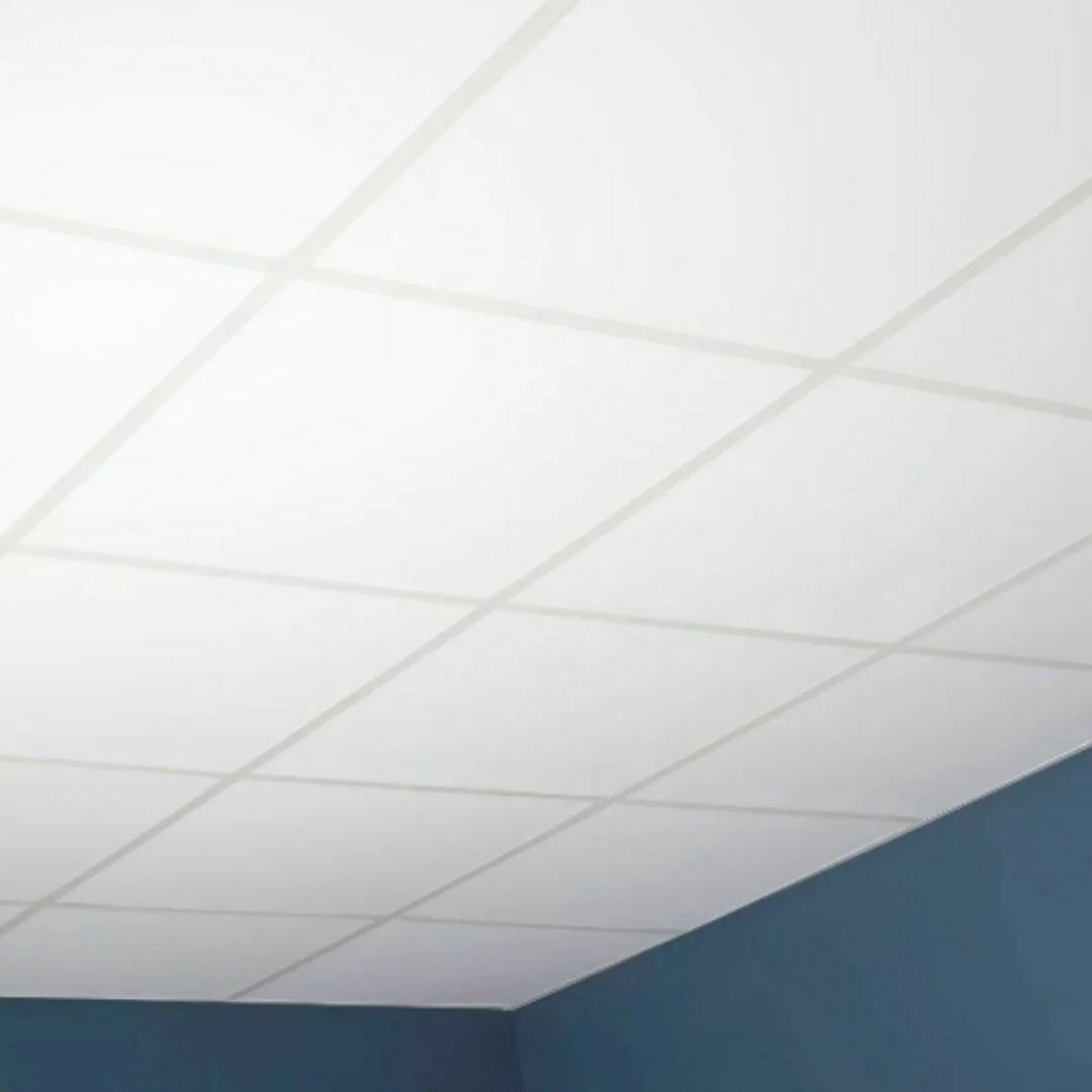 soundsulate white drop ceiling tiles 24 x 48 x 1 sound absorbing 10 pieces walmart com