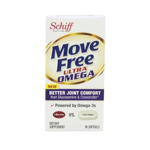 Schiff Move Free Ultra Omega Softgels 30 ea (Pack of 3 ...