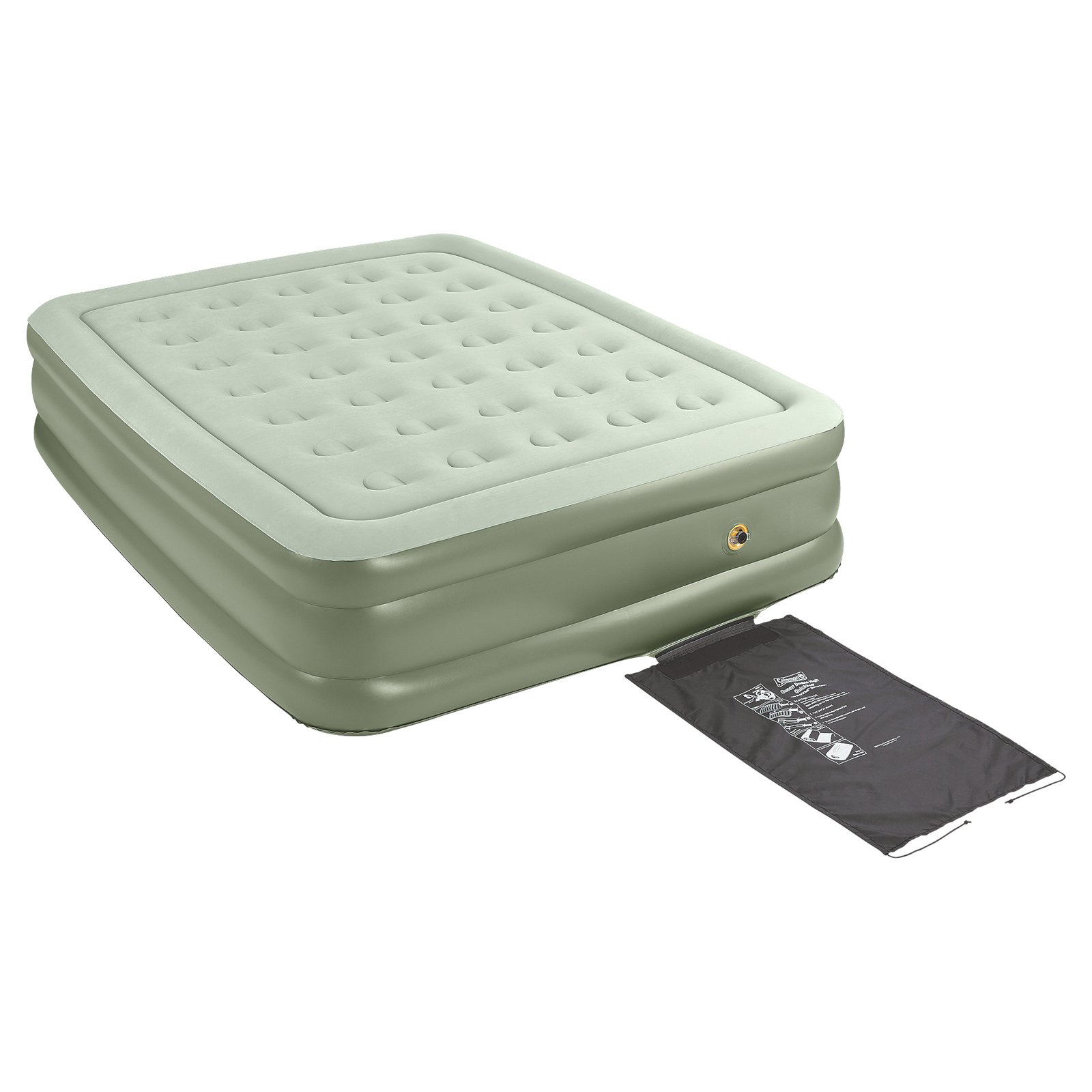Coleman Quickbed Double High Queen Airbed with Wrap N