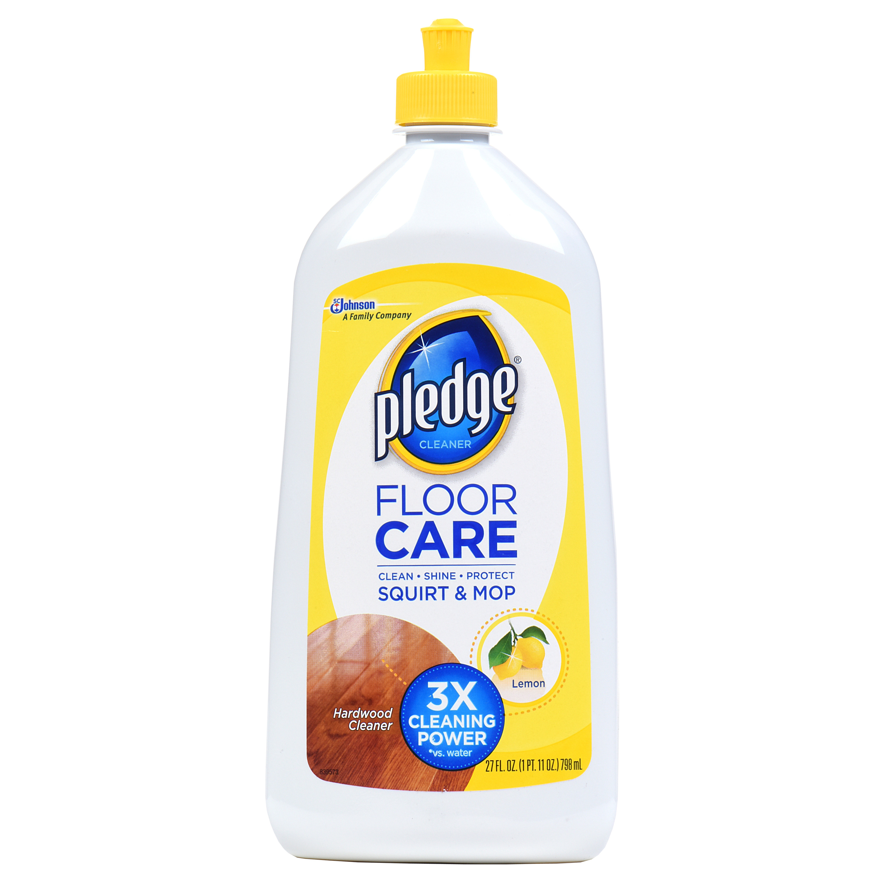 Pledge Floor Care Cleaner Lemon 270 FL OZ  Walmartcom