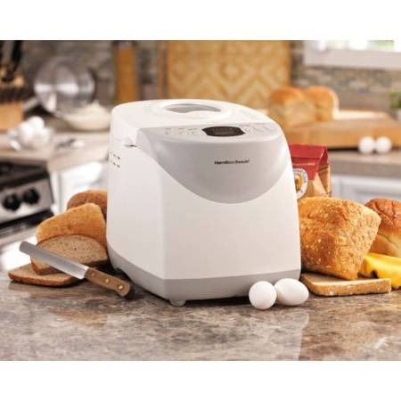 Gluten Free Gifts 9 Hamilton Beach HomeBaker 2 Pound Automatic Breadmaker with Gluten Free Setting | Model# 29881
