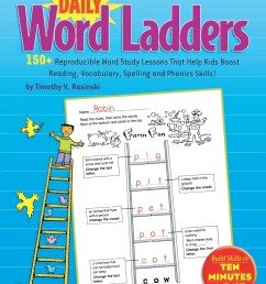 Daily Word Ladders Worksheets   Printable Worksheets and Activities for  Teachers [ 1360 x 1051 Pixel ]