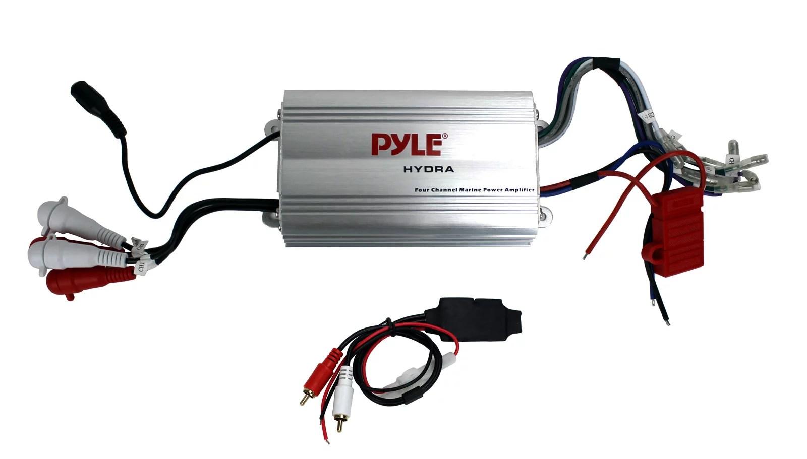 hight resolution of pyle plmrmp3a 4 channel marine waterproof mp3 ipod amplifier pyle plmrmp3a wiring diagram