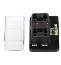 4 way blade fuse box holder with led warning light kit for car boat marine trike 12v 24v walmart com [ 1000 x 1000 Pixel ]
