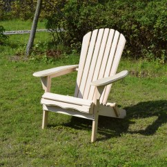 Adirondack Chair Kit Padded Shower With Back And Arms Porch Den Buckhead Arden Natural Finish Foldable