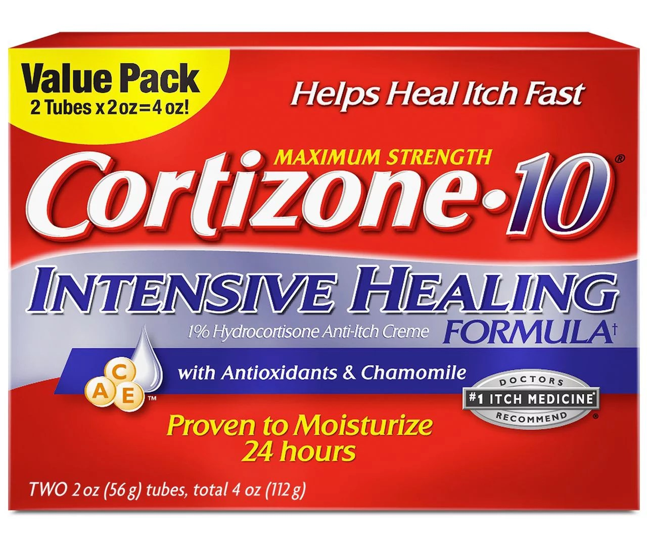 Product of Cortizone 10 Intensive Healing Cream 2 pk./2 ...