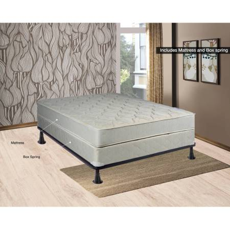 Continental Sleep 8 Fully Assembled Orthopedic Mattress And Box Spring Multiple Sizes